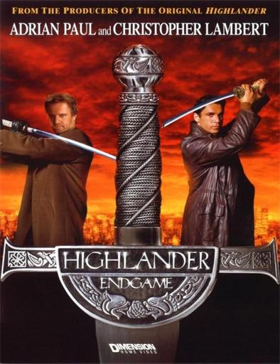Poster de Highlander 4: El encuentro final