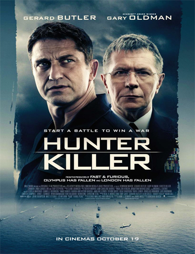 Poster de Hunter Killer (Misión submarino)