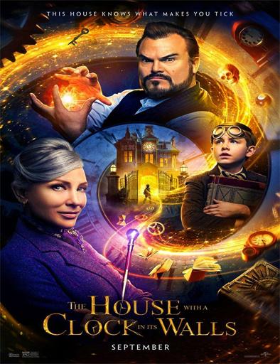 Poster de La casa con un reloj en sus paredes