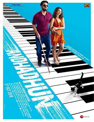 Poster de Andhadhun