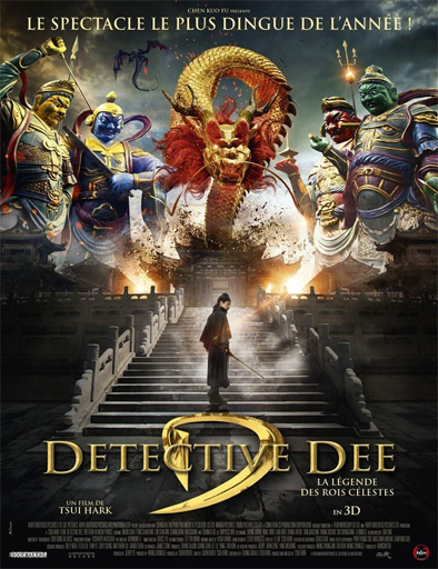 Poster de Detective Dee: The Four Heavenly Kings