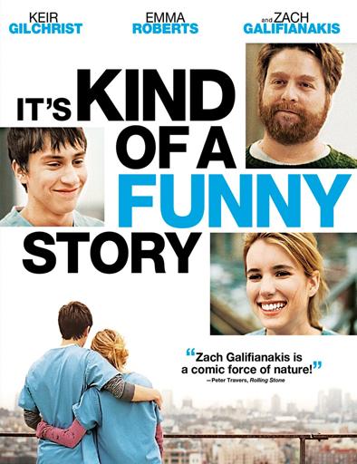 Poster de It's Kind of a Funny Story (Una divertida historia)