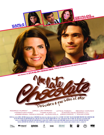 Poster de Me late chocolate