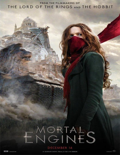 Poster de Mortal Engines (Máquinas mortales)