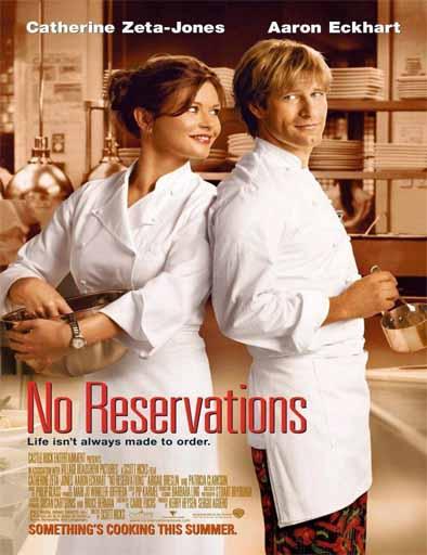 Poster de No reservations (Sin reservas)