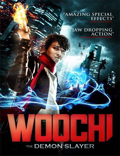 Poster de Woochi, el cazador de demonios