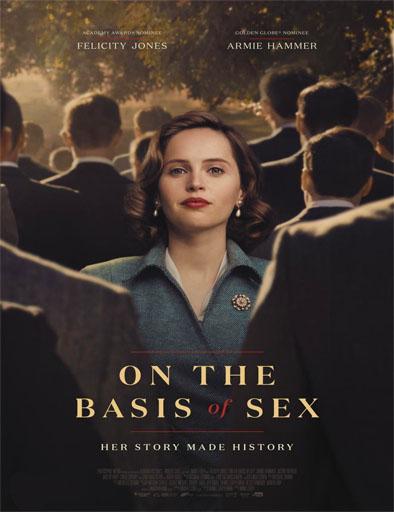 Poster de On the Basis of Sex (La voz de la igualdad)