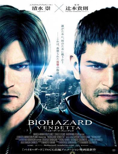 Poster de Resident Evil: Vendetta