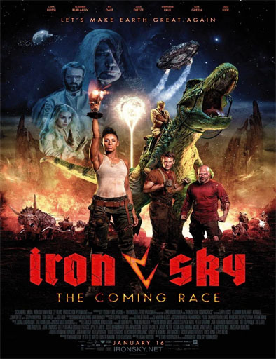 Poster de Iron Sky: The Coming Race
