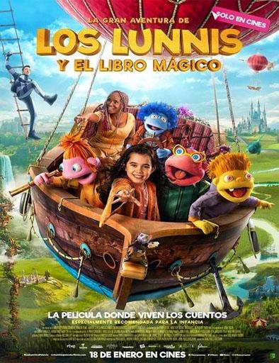 Poster de La gran aventura de Los Lunnis y el Libro Mágico