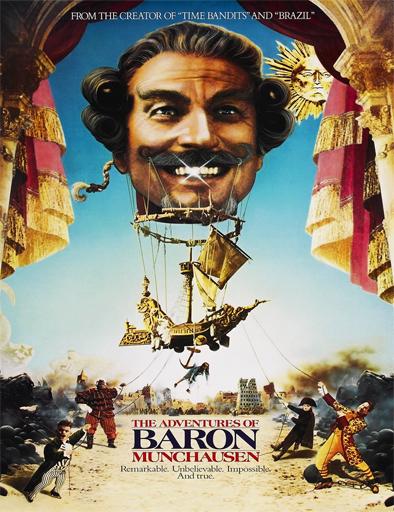 Poster de Las aventuras del barón Munchausen