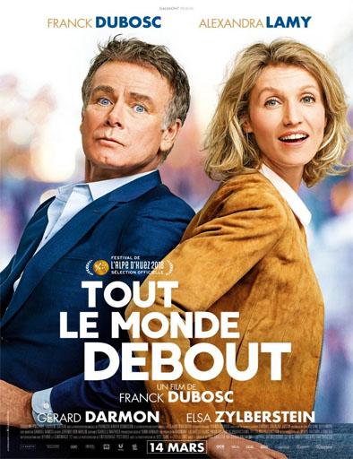 Poster de Tout le monde debout (Rodando hacia ti)