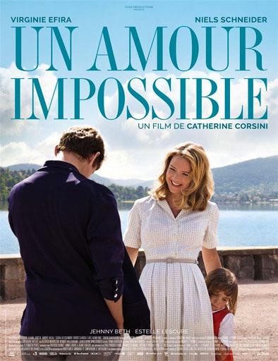 Poster de Un amour impossible