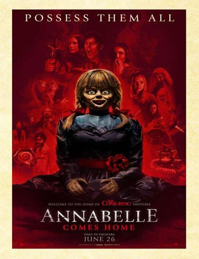 Poster de Annabelle 3: Viene a casa