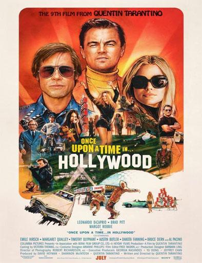 Poster de Había una vez en... Hollywood