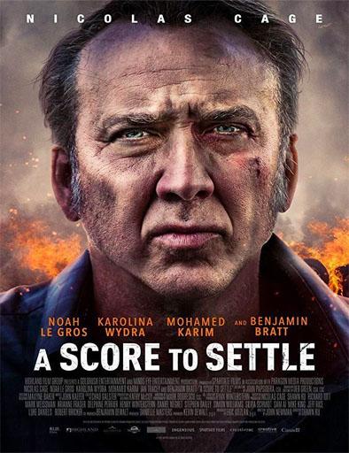 Poster de A Score to Settle