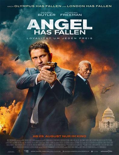 Poster de Agente bajo fuego
