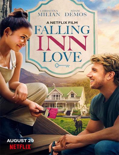 Poster de Falling Inn Love (Amor en obras)