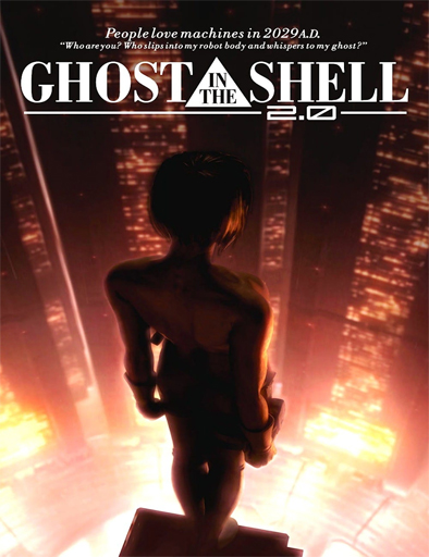 Poster de Ghost in the Shell 2.0