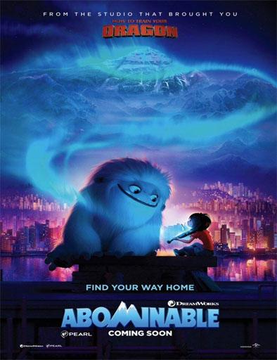 Poster de Un amigo abominable
