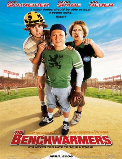 Poster de The Benchwarmers (Los calientabancas)