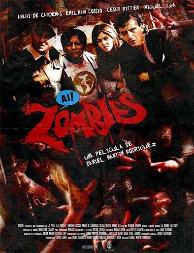 Poster de Aj Zombies!