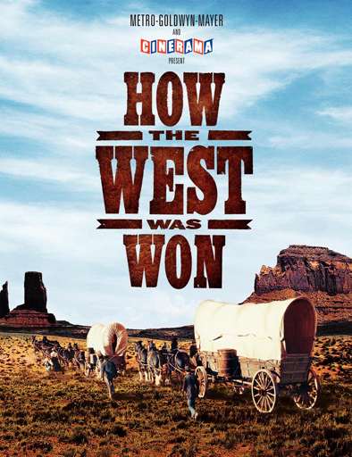 Poster de How the West Was Won (La conquista del Oeste)