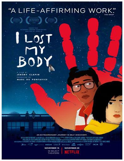 Poster de J'ai perdu mon corps (Perdí mi cuerpo)