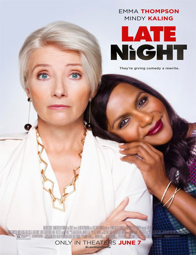 Poster de Late Night