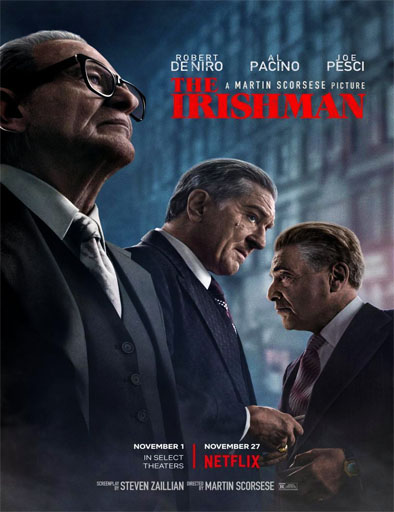Poster de The Irishman
