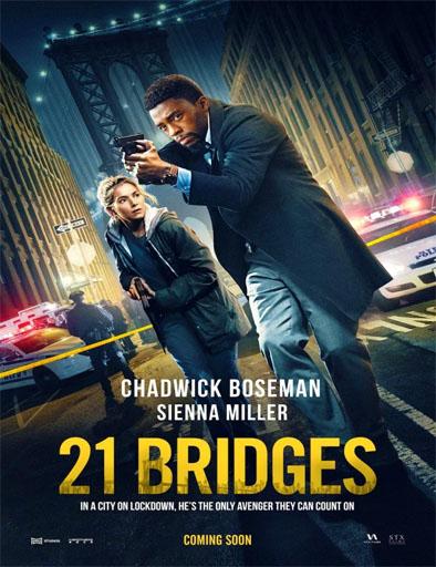 Poster de 21 Bridges (Nueva York sin salida)