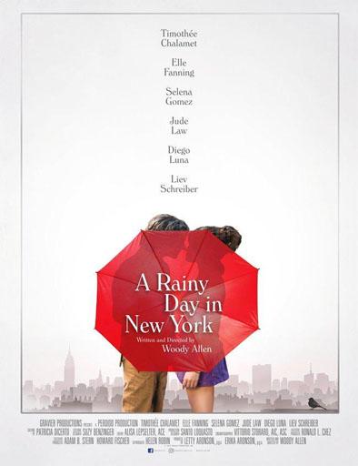 Poster de Un día lluvioso en Nueva York