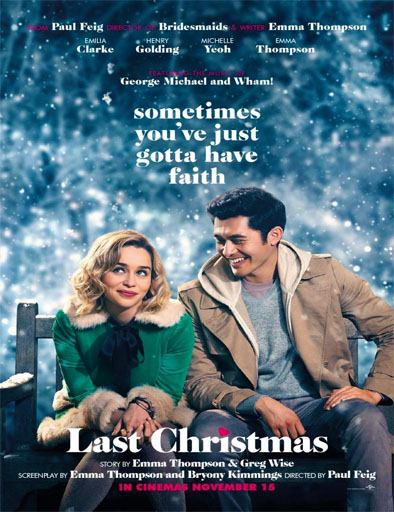 Poster de Last Christmas: Otra oportunidad para amar