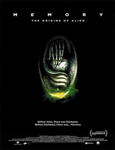 Poster de Memory: The Origins of Alien