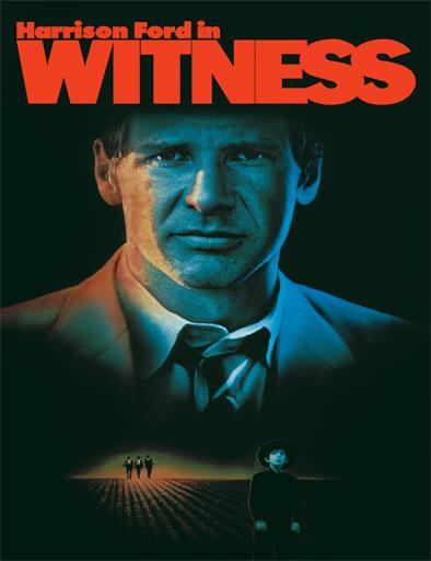 Poster de Witness (Testigo en peligro)