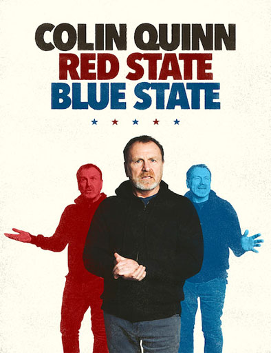 Poster de Colin Quinn: Red State Blue State