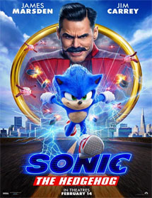 Poster new de Sonic the Hedgehog (Sonic, la película)