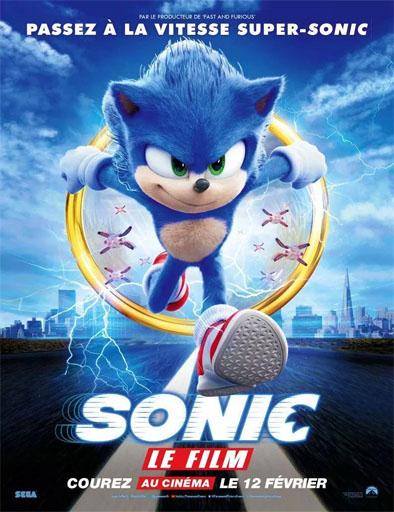 Poster de Sonic the Hedgehog (Sonic, la película)