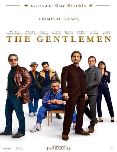 Poster de The Gentlemen. Los señores de la mafia