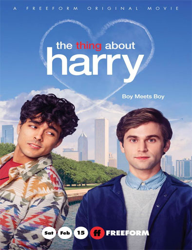 Poster de The Thing About Harry