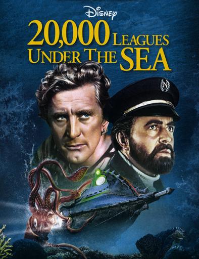 Poster de 20.000 leguas de viaje submarino