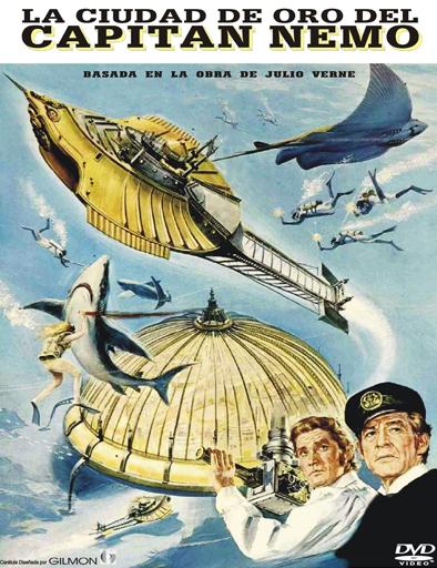 Poster de La ciudad de oro del capitán Nemo