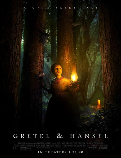 Poster de Gretel y Hansel: Un siniestro cuento de hadas
