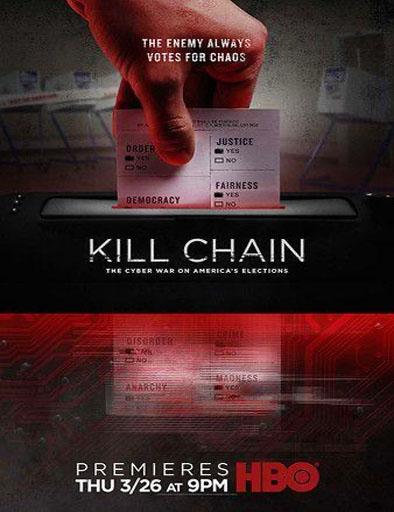 Poster de Kill Chain: The Cyber War on America's Elections