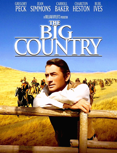 Poster de The Big Country (Horizontes de grandeza)
