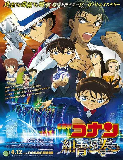 Poster de Detective Conan: El puño de zafiro azul