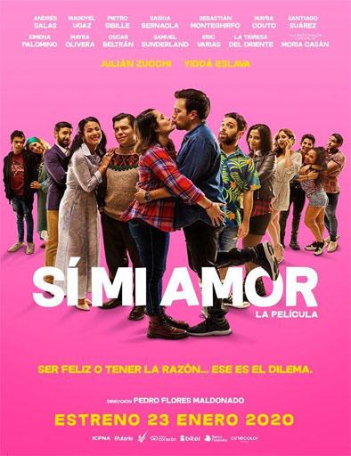 Poster de Sí, Mi Amor
