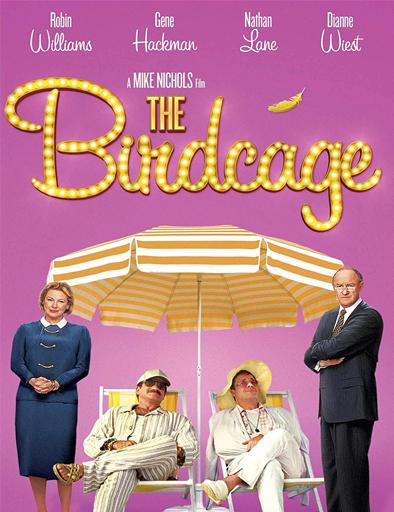 Poster de The Birdcage (La jaula de los pájaros)