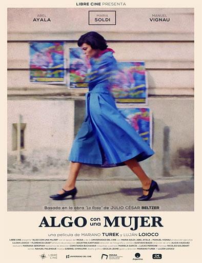 Poster de Algo con una mujer