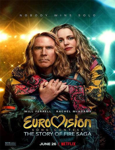 Poster de Festival de la canción de Eurovisión: La historia de Fire Saga